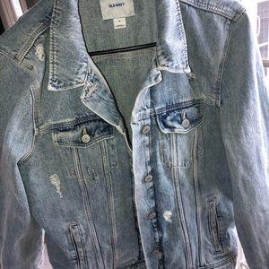 Denim jacket light wash